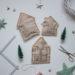 DIY upcycling - weihnachtliche Verpackung aus Packpapier nähen